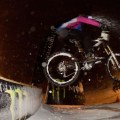 Snow Bike Downhill Night Mörlialp 2012