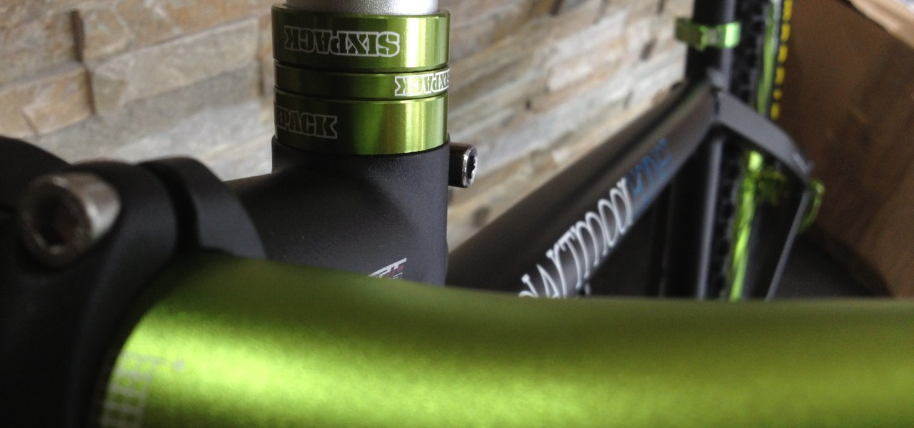 Dartmoor Green Hornet Sixpack Anodized