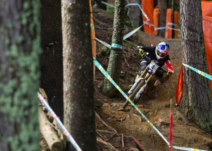 UCI Mountain Bike Downhill Weltcup 2013 Leogang