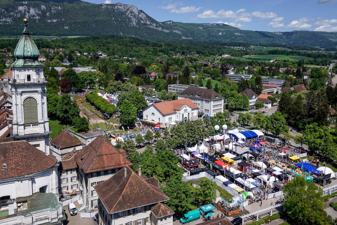 bike days 2016 solothurn übersicht von oben luftbild