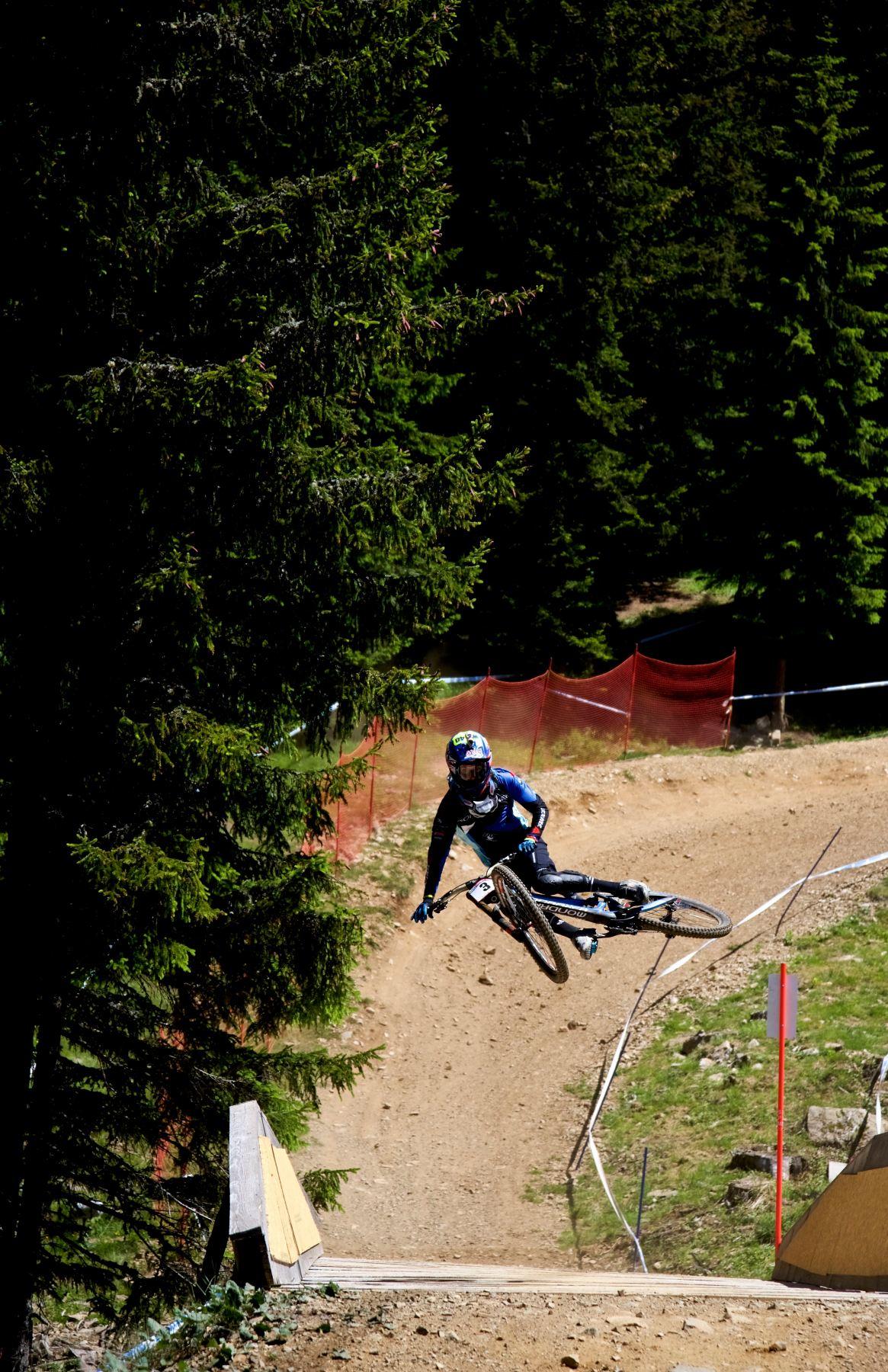 danny hart lenzerheide 2016 downhill uci worldcup