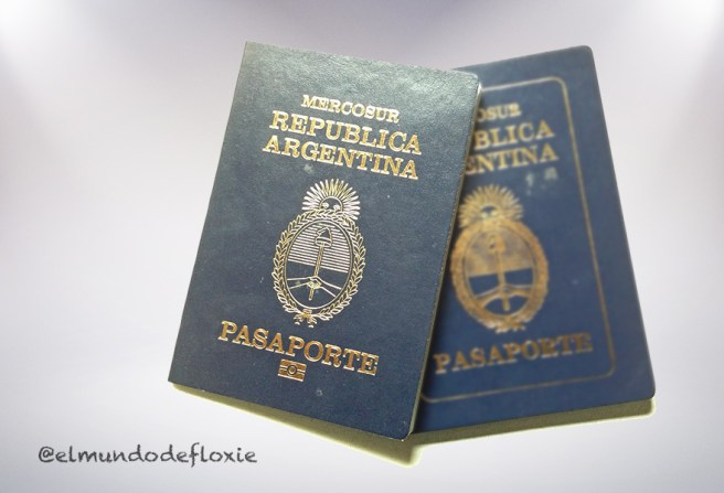 Nuevo pasaporte electronico argentino