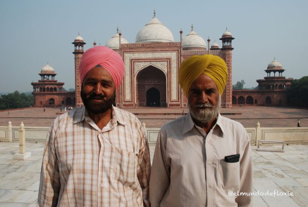 Sijes en el Red Fort