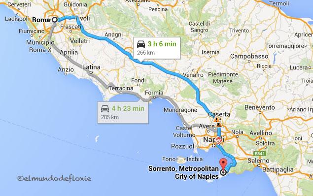 Recorriendo La Costa Amalfitana Parte 1 El Mundo De Floxie