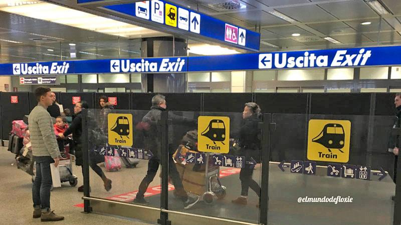 Como llegar desde el Aeropuerto de Roma a la ciudad
