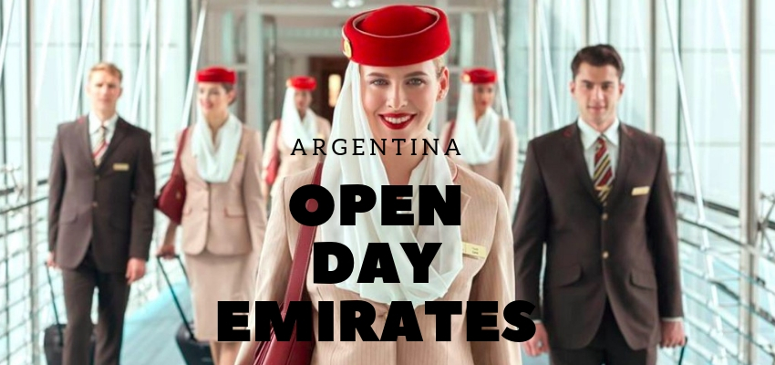 Nuevos #OpenDay de Emirates en Buenos Aires, Córdoba, Mar del Plata y Rosario