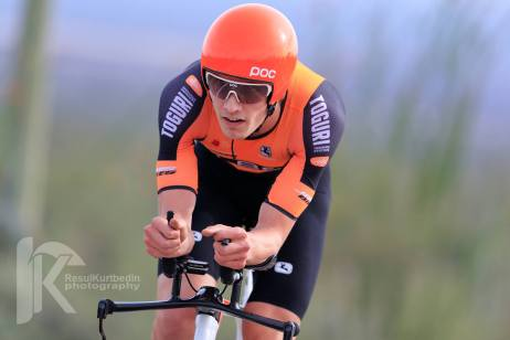TBC Stage 1 ITT: Roberge finished 3rd. ©Resul Kurtbedin Photography