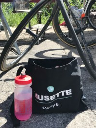 Musette Caffé provides our musettes. Clif provides our beverages. pic: Scott McFarlane