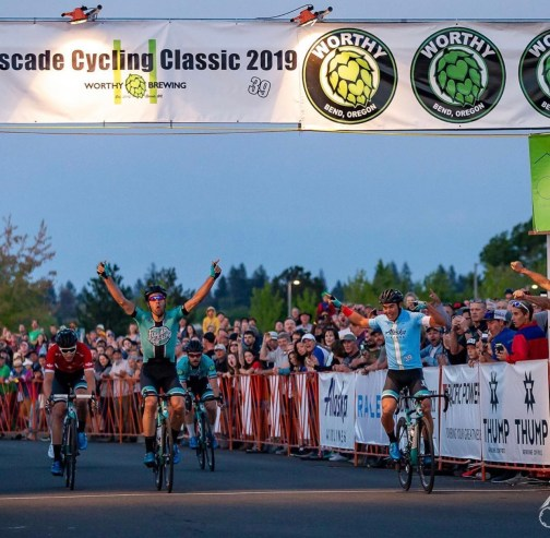 Travis, Emile, Zuke and Cowan top 4 in the crit©Jen Agan