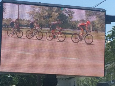 Silber in the break and on the big screen at the Philly classic