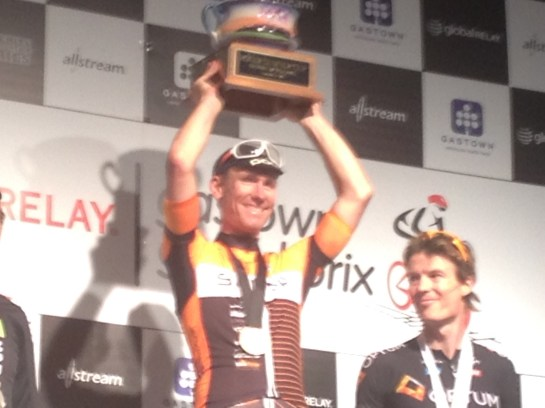 Ryan Roth won the Gastown GP in front of an estimated 20,000 fans