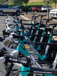 Icon fitted several of our Van Dessel bikes with GoPro cameras © Scott McFarlane