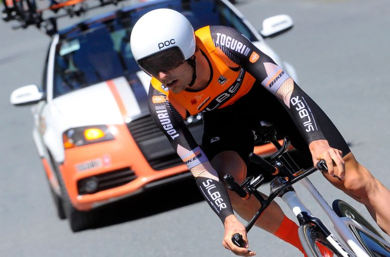 Roberge rode a perfectly paced TT. ©VeloImages