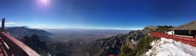 View from Sandia Peak