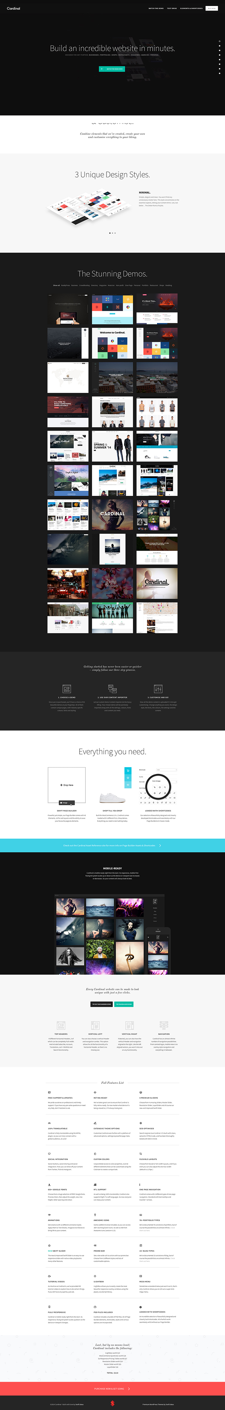a multipurpose WordPress theme
