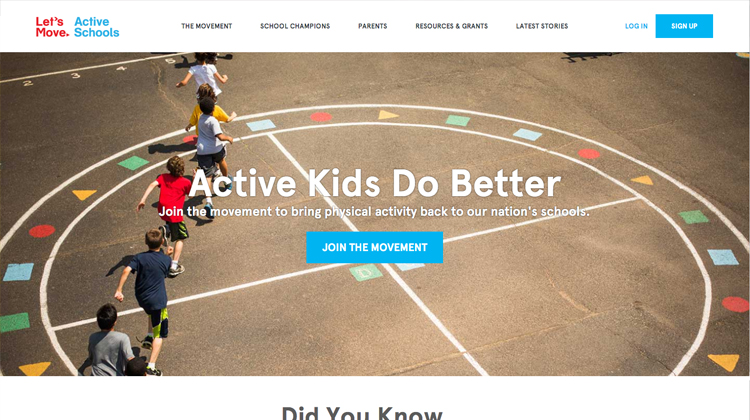 Let's Move Active Schools