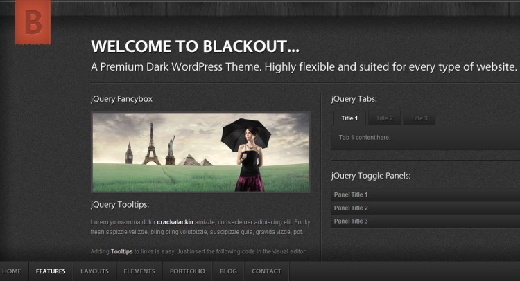 Blackout-themeforest-theme