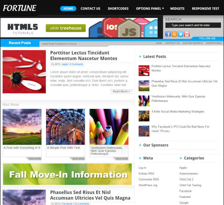 Fortune-wordpress-theme