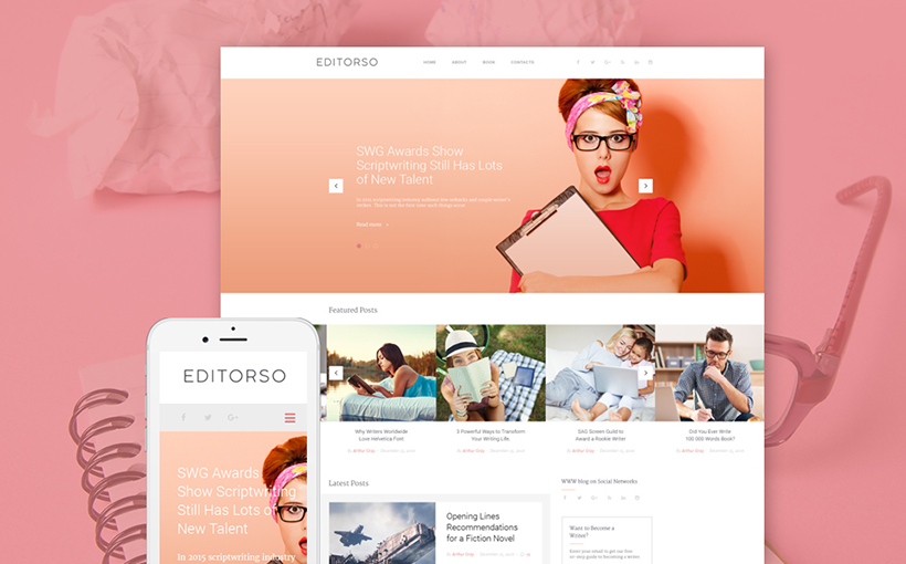 Journalist WordPress Theme