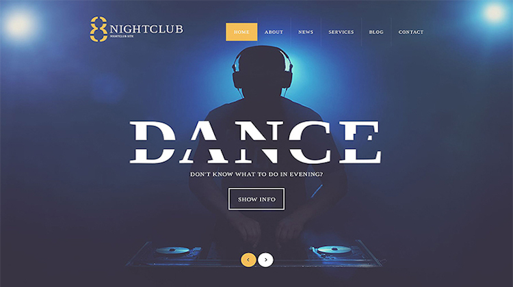 10 Top WordPress Dance and Music Themes