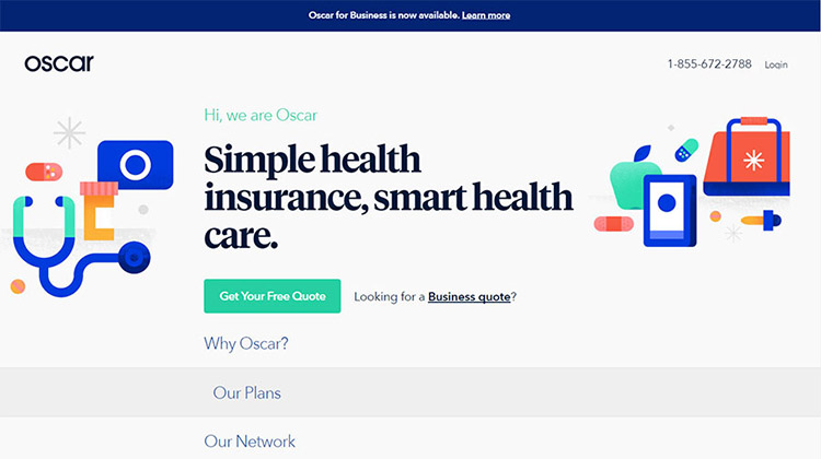 Oscar – Health Insurance Services