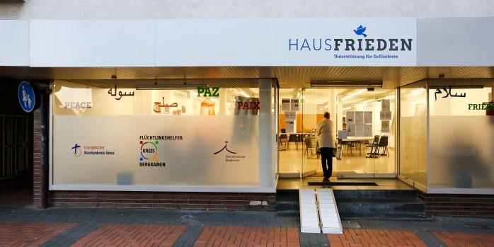 Haus Frieden am Nordberg Flüchtlinge Geflüchtete Ehrenamtliche