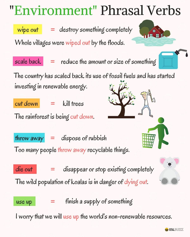 Most Useful Phrasal Verbs In English