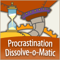 Procrastination Dissolve-o-matic