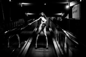 Model RedClo shot by Guido Cantone