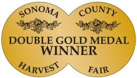 Sonoma County Harvest Fair Double Gold Medal