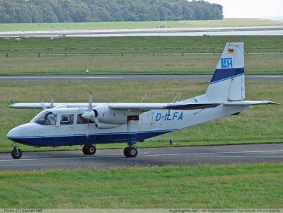 Britten-Norman BN-2 Islander - Specifications - Technical ...