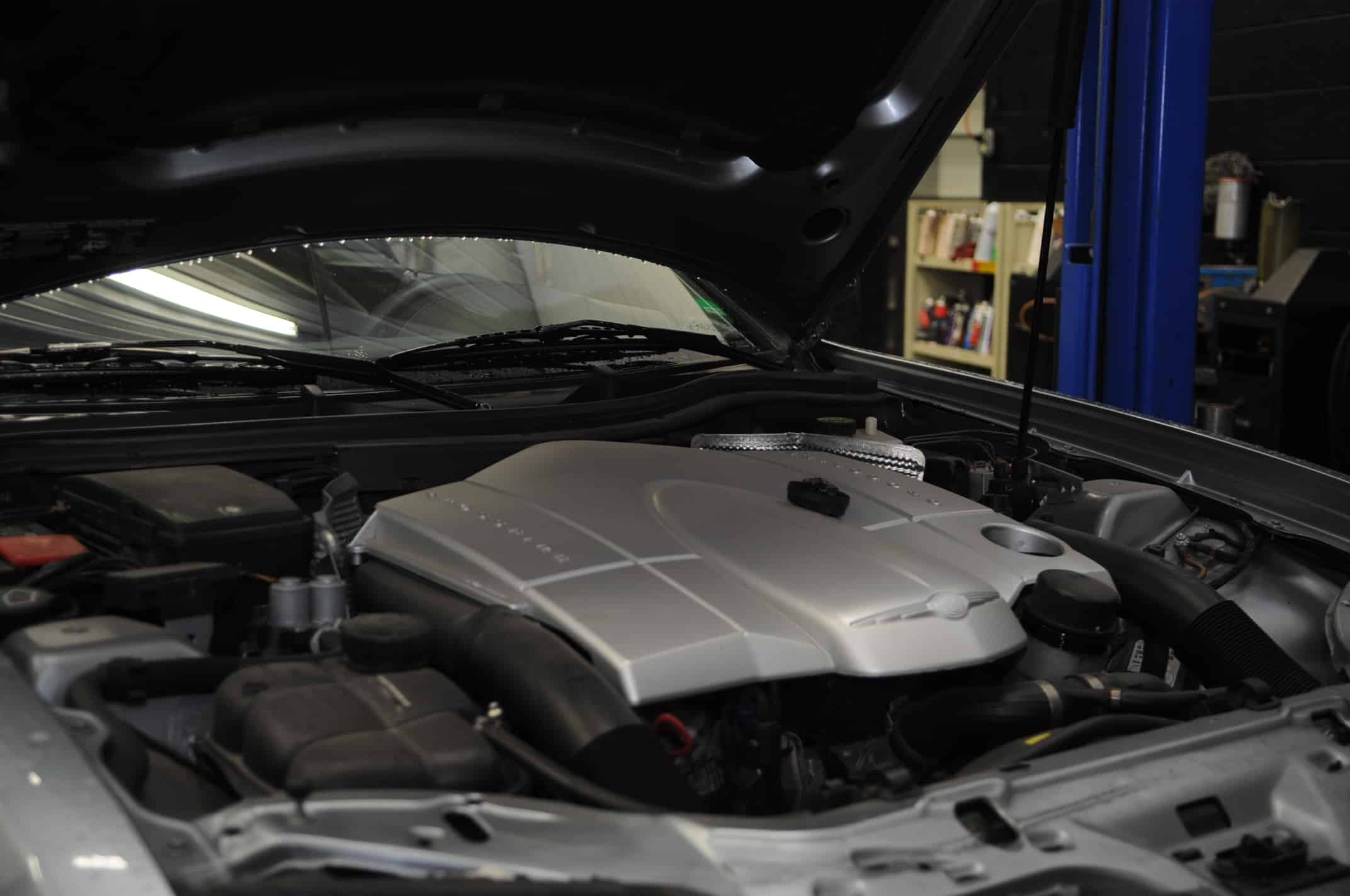 Unconventional Oil Change 2004 chrysler crossfire 3 2L V6 M112 and