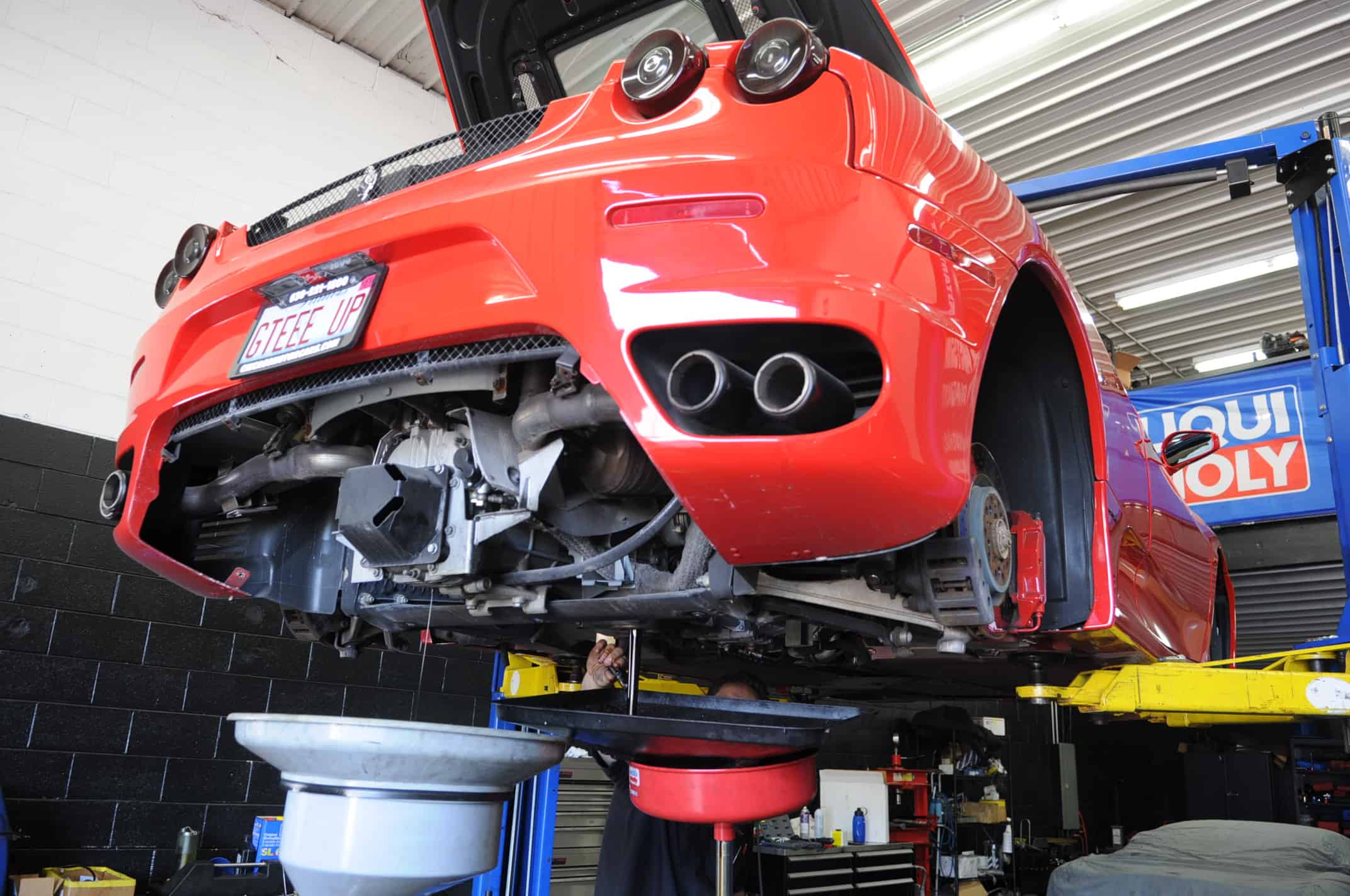 ferrari service f430 oil change transmission chicago naperville 3