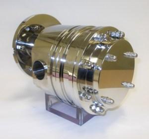 pompe volumétrique auto-amorçante avec engrenages externes bridé au moteur pour colline