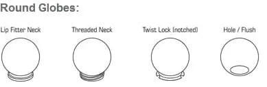 Round Globes