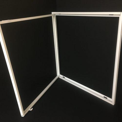retro-fit kit broken or damaged fluorescent light cover