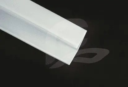 F-2082 white sideways image for fluorescent light cover and diffusers for replacement broken and damaged