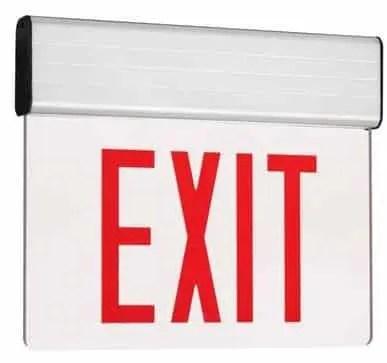 edge-lite led exit