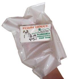 flushable dog poop bags