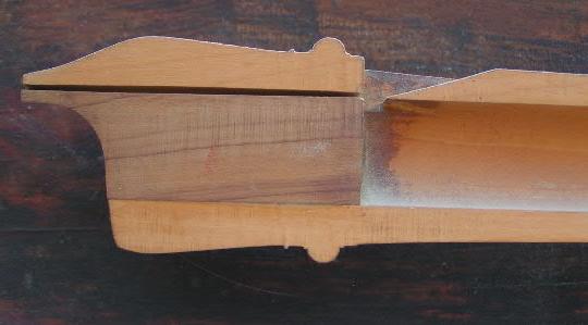 A recorder mouthpiece