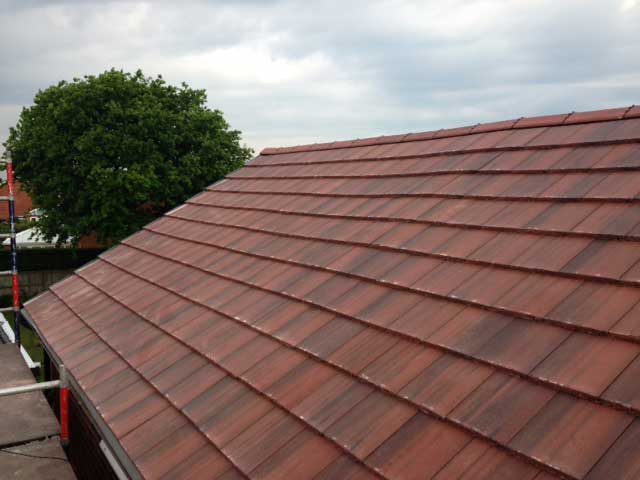 Kirkey Roofing Eagle Tile Roof Install You