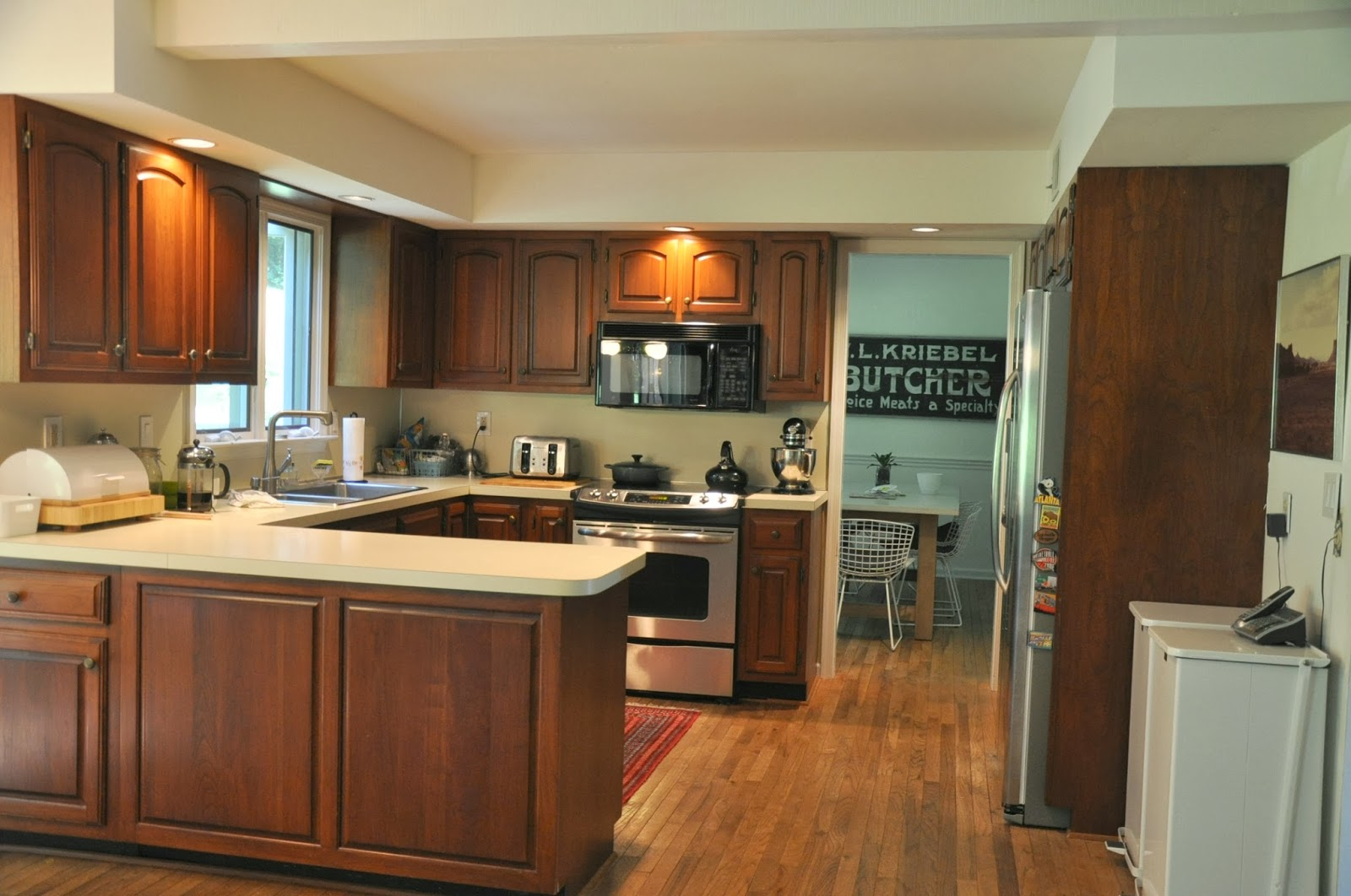 Simple L Shaped Kitchen Cabinets