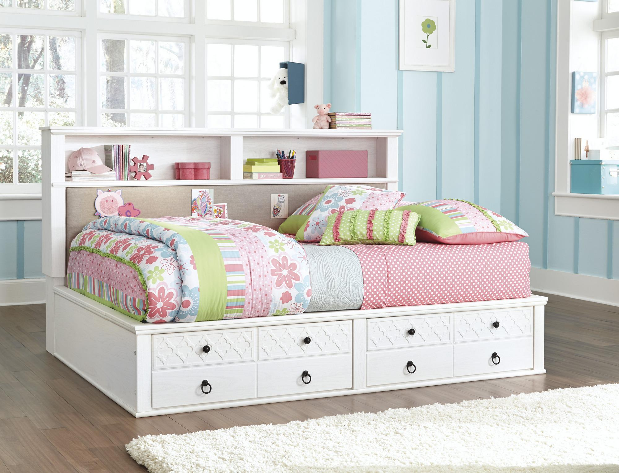 Bookcase Daybed With Storage Home Inspirations