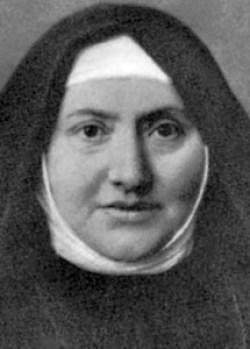 sveta Jedrt Katarina Comensoli, devica in ustanoviteljica