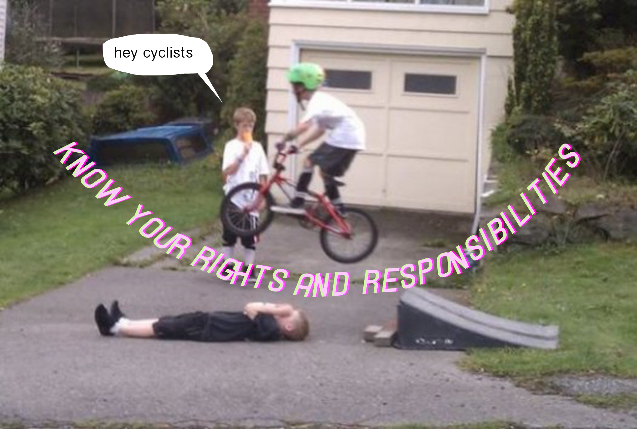 Cyclists: Know Your Rights & Responsibilities