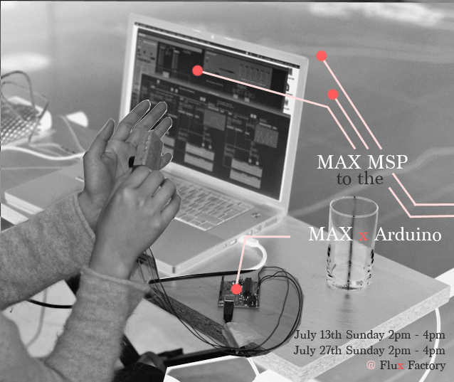 MAX MSP To The MAX X Arduino
