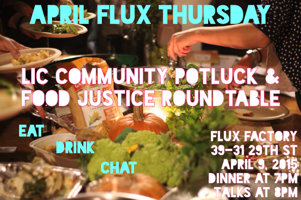 April Flux Thursday