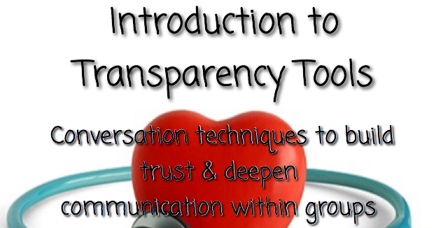 Introduction To Transparency Tools