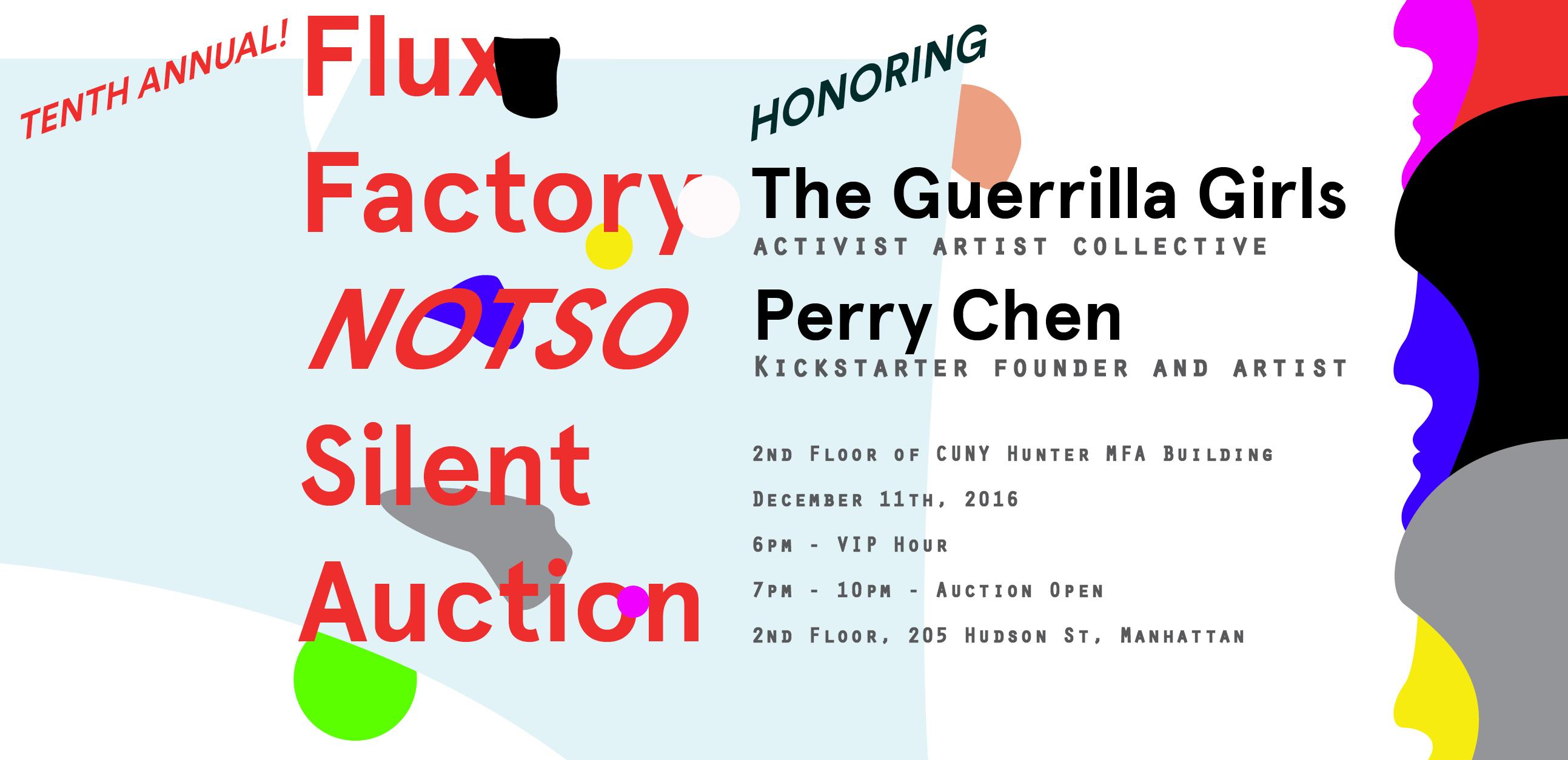 Flux Factory's Tenth Annual Auction