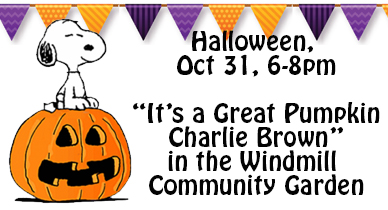 Halloween Screening Of In The Windmill Community Garden